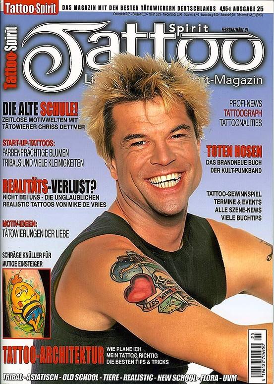 Tattoo Articles: Tattoo Spirit By : Tattoo Magazine Articles